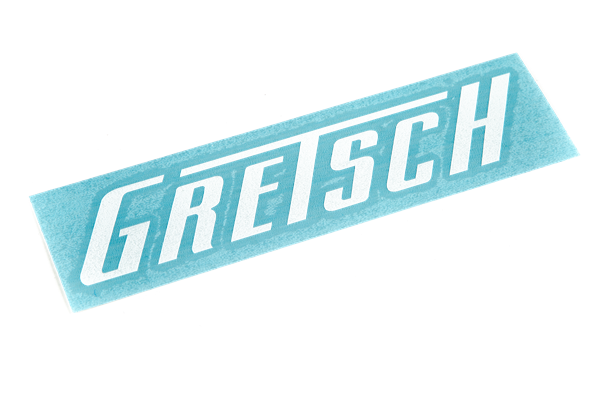 Gretsch Die Cut Window Sticker