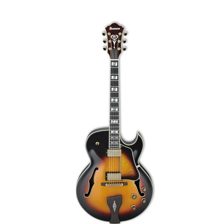 Ibanez LGB300 George Benson Hollow Body Electric Guitar Vintage Yellow Sunburst