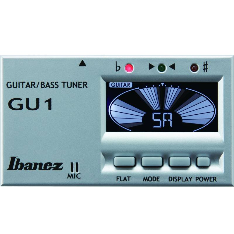 Ibanez GU1SL Guitar and Bass Tuner