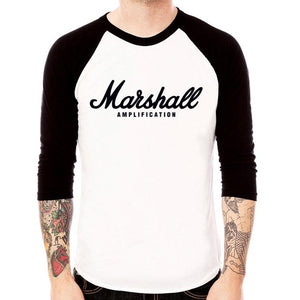 28d9d164 Marshall Amplification Logo Guitar Amp T Shirt - Soundhouse Promotions