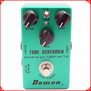 Guitar Effect Pedal TS9 and TS808 Tube Screamer 2 in 1 Overdrive And True Buypass