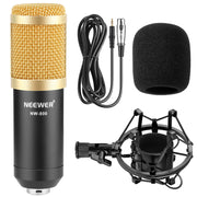 NW-800 Professional Condenser Microphone Kit:Microphone For Computer+Shock Mount+Foam Cap+Cable As BM 800 Microphone