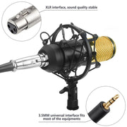 Professional Condenser Microphone  Audio Vocal Recording Mic KTV Karaoke