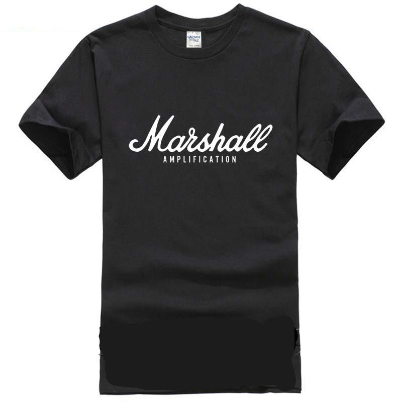 Quality 100% Cotton Marshall Short Sleeve T Shirts