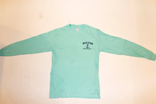 Boston Long Sleeve Tee (turquoise)