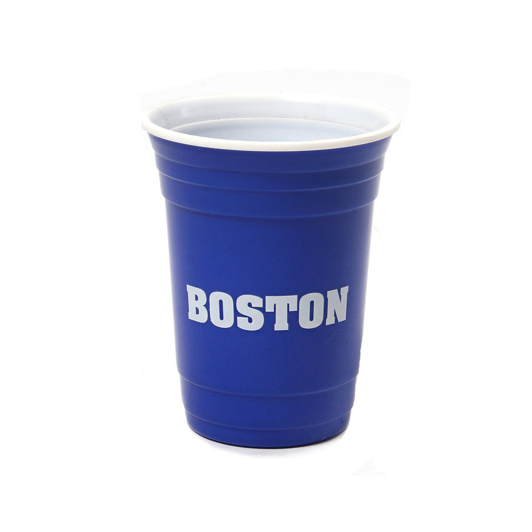 Boston Beer Pong Cup (Blue)