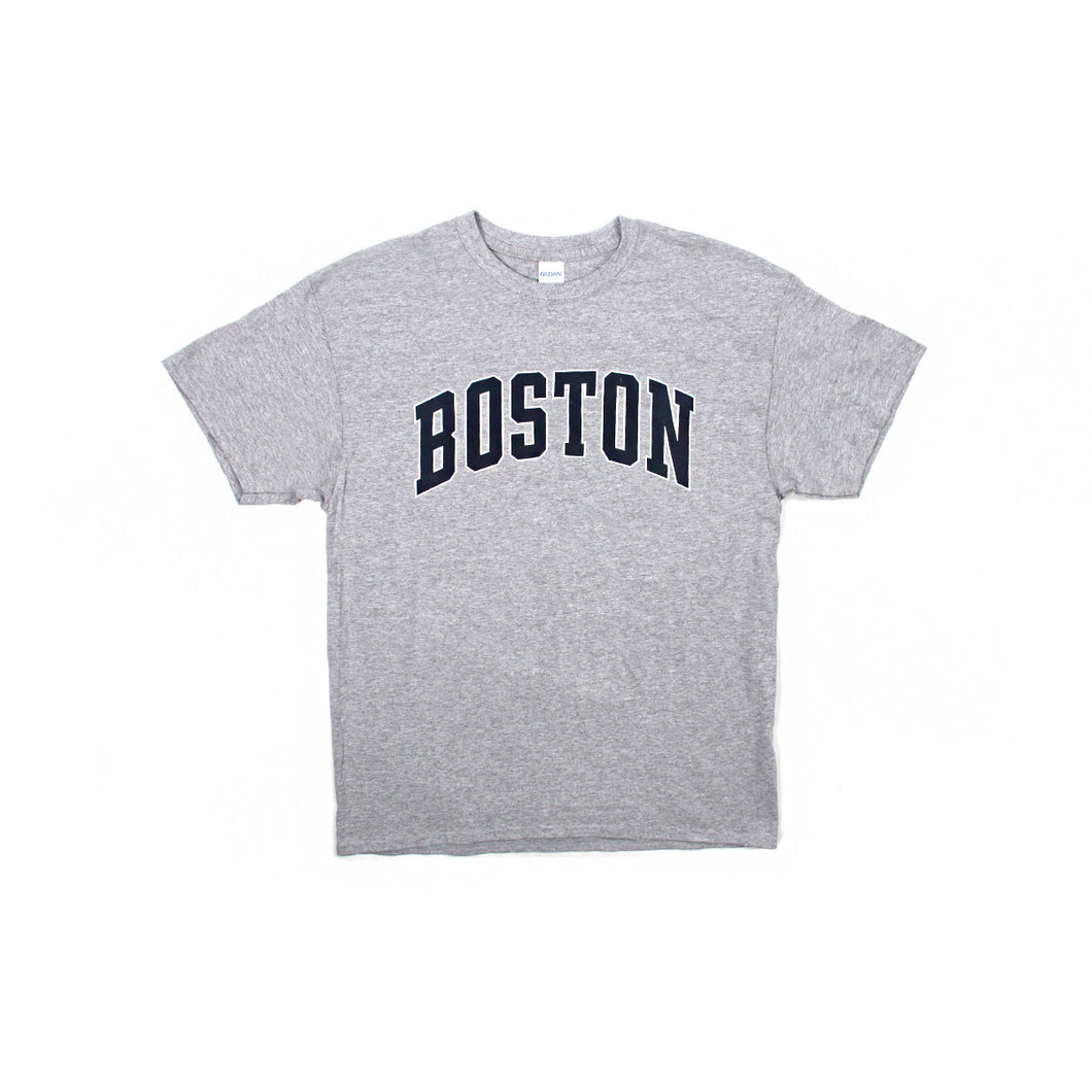 Boston Logo Tee Shirt (Grey)