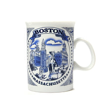 Boston City Mug (White/Blue)