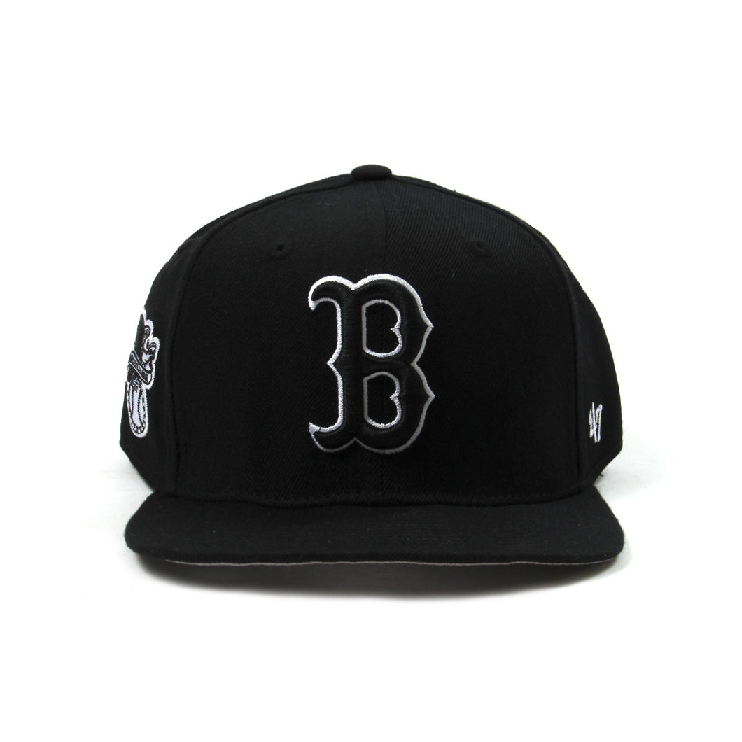 Boston Red Sox Cap (Black/Black)