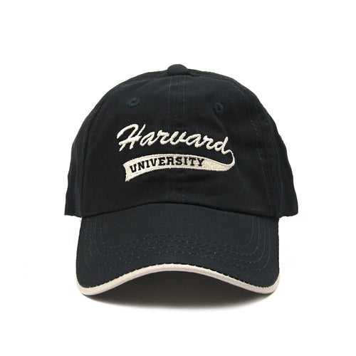 Harvard University Script Cap (Navy)