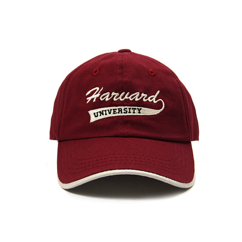 Harvard University Script Cap (Crimson)