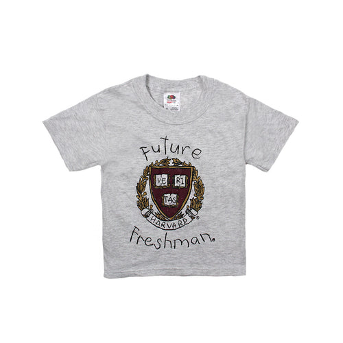 Kids Harvard Future Freshman Tee (Grey)