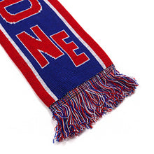 New England Scarf (Blue/Red-White)