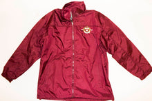 Harvest Crest Wind Breaker Jacket (Crimson)