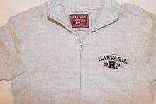 "Harvard "" Nantucket "" Crest 3/4 Zip Sweatshirt"