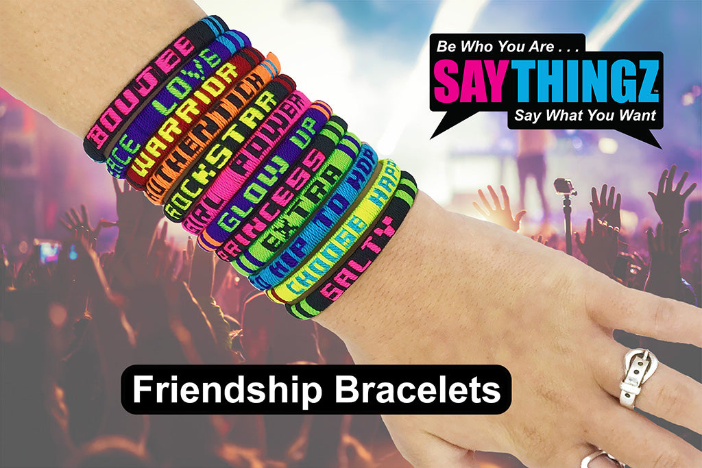 Say Thingz Concert Friendship Bracelet