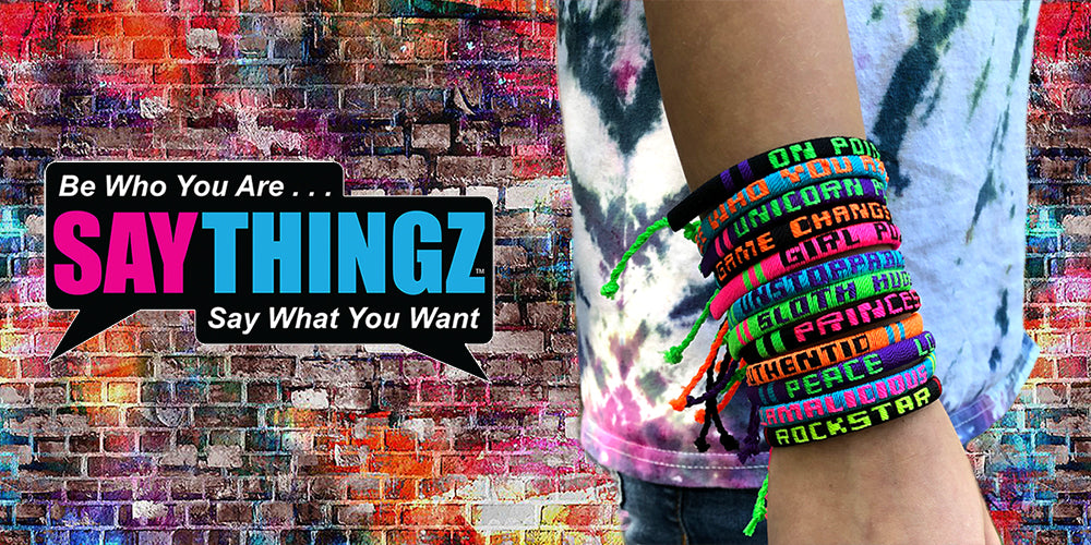 Say Thingz Friendship Bracelets