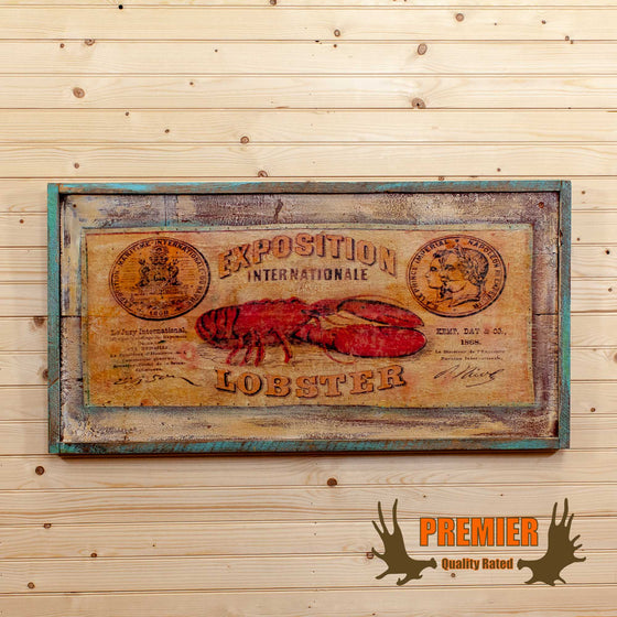 Vintage Lobster Sign - SW10051