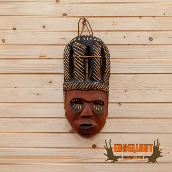african mask carving art artifact for sale