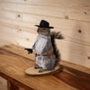 Cowboy Squirrel Taxidermy Mount SW10369