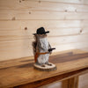 Cowboy Squirrel Taxidermy Mount SW10370