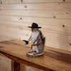 Cowboy Squirrel Taxidermy Mount SW10371