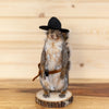 Cowboy Squirrel Taxidermy Mount SW10372