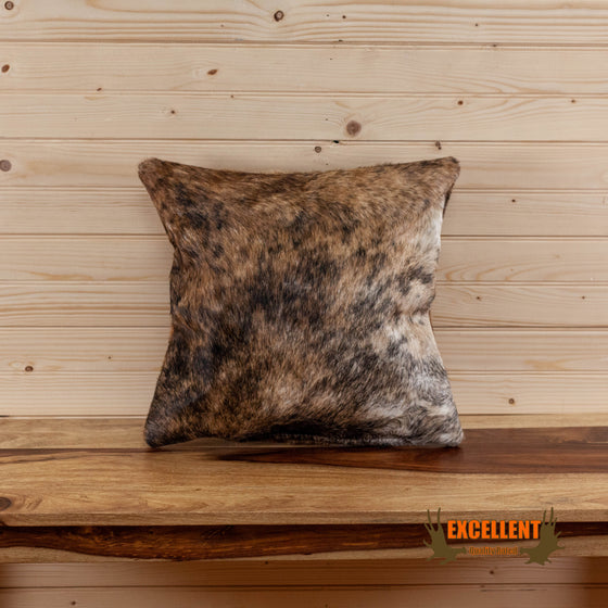 brand new authentic cowhide accent pillow for sale