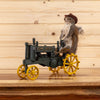 Squirrel Driving John Deere Tractor Full Body Taxidermy Mount SW10481