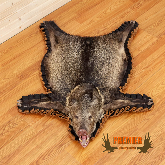 javelina rug taxidermy for sale