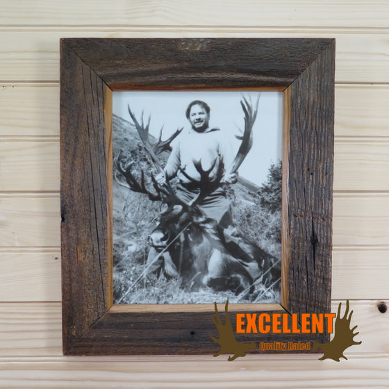 rustic wood photo frame for sale