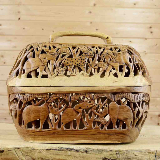 Wood Basket for Sale