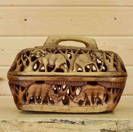 African Storage Basket