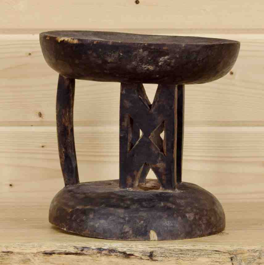 Astonishing Authentic African Wooden Stool Sw9058 Gmtry Best Dining Table And Chair Ideas Images Gmtryco