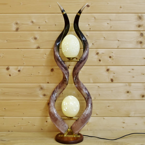 Kudu Horn Lamp for Sale
