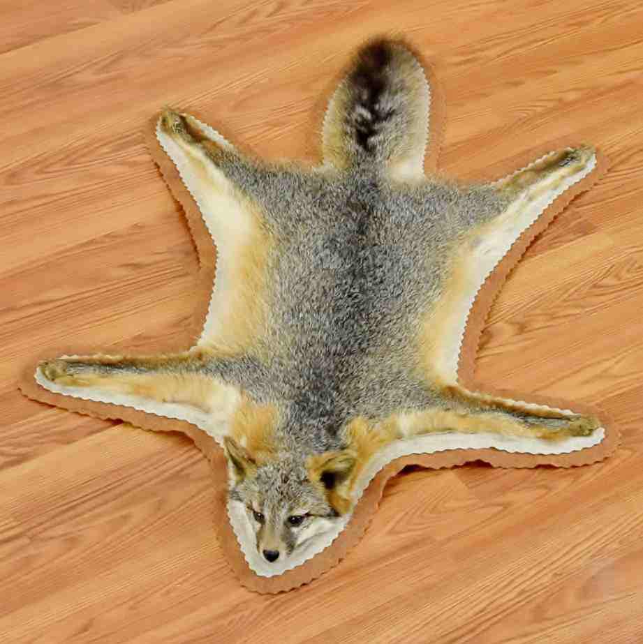 Gray Fox Rug For Sale ...