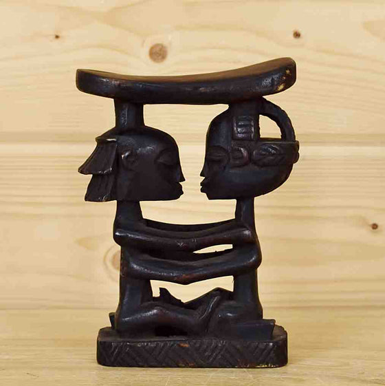 Luba Shakandi Wooden Headrest for Sale