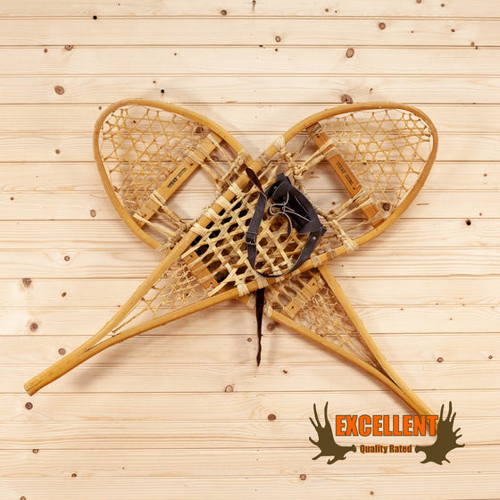 Large Classic Wood Snowshoes SW10501