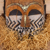 Authentic African Hand-carved Tribal Mask Helmet SW10583