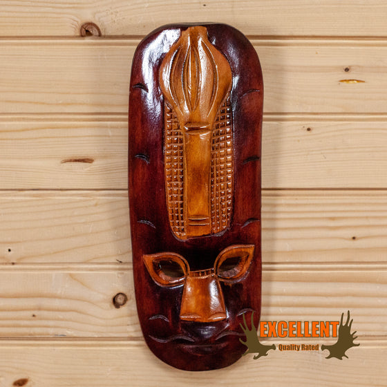 ancient tribal central south american mask for sale