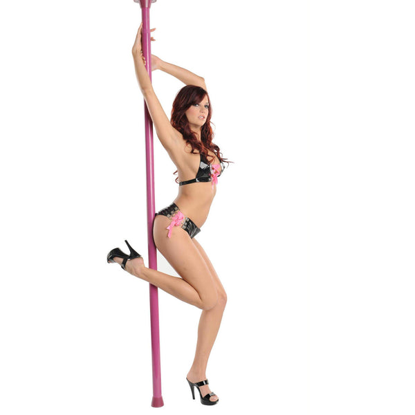 LoveCubby - Games & Parties - Pink Secret Dancer Pole with DVD by Frisky