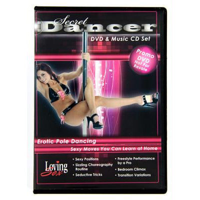 LoveCubby - Games & Parties - Secret Dancer DVD and Music CD Set by Unbranded