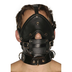 LoveCubby - Muzzles - Strict Leather Premium Muzzle with Blindfold and Gags by Strict Leather