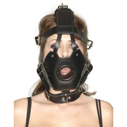 LoveCubby - Muzzles - Strict Leather Premium Muzzle with Open Mouth Gag by Strict Leather