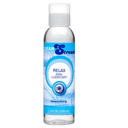 LoveCubby - Personal Lubricants - CleanStream Relax Desensitizing Anal Lube 4 oz by Cleanstream