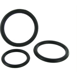 LoveCubby - Cock Rings - Black Triple Silicone Cock Ring Set by Trinity Vibes