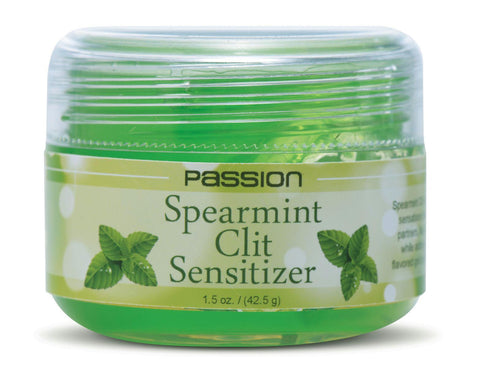 LoveCubby - Herbals & Creams - Passion Spearmint Clit Sensitizer - 1.5 oz by Passion Lubricants