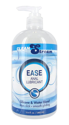 LoveCubby - Personal Lubricants - CleanStream Ease Hybrid Anal Lubricant 16.4 oz by Cleanstream
