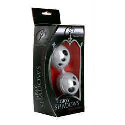 LoveCubby - Kegel & Ben Wa Balls - Grey Shadows Silicone Ben Wa Balls by Greygasms