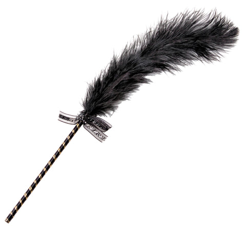 LoveCubby - Misc. Bondage Gear - Frisky Feather Tickler - Black by Frisky